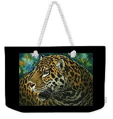 Jaguar Weekender Tote Bag by Sandra LaFaut
