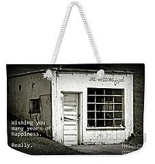 Jail And Wedding Chapel Weekender Tote Bag