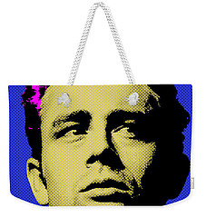 James Dean 002 Weekender Tote Bag by Bobbi Freelance