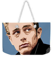 James Dean In Color Weekender Tote Bag