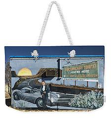 James Dean Mural In Tucumcari On Route 66 Weekender Tote Bag