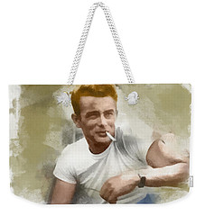 James Dean Weekender Tote Bag