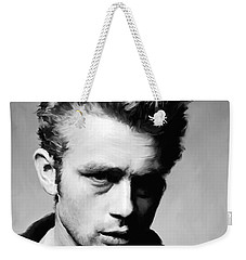 James Dean - Portrait Weekender Tote Bag by Paul Tagliamonte