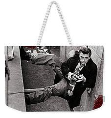 James Dean Rolleiflex New York City 1954-2014 Weekender Tote Bag