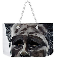 Weekender Tote Bag featuring the photograph James Dean The Rebel by Kyle Hanson