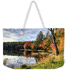 Jamie's Pond Weekender Tote Bag