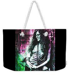 Janis Joplin - Pink Weekender Tote Bag