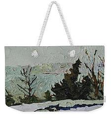 January Grays Weekender Tote Bag