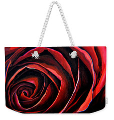 January Rose Weekender Tote Bag