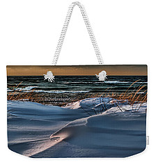 January Saugatuck Blues Michigan Weekender Tote Bag