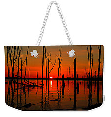 January Sunrise Weekender Tote Bag