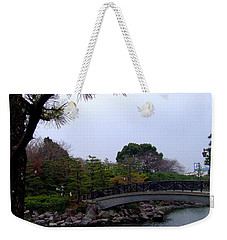 Weekender Tote Bag featuring the photograph Japan by Andrea Anderegg