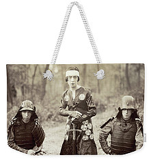 Weekender Tote Bag featuring the photograph Japan Dancer, 1920s by Granger