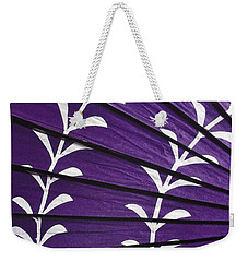 Japanese Folk Art - Purple Parasol Weekender Tote Bag