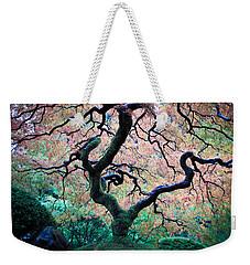 Japanese Maple In Autumn Weekender Tote Bag