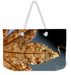 Japanese Maple Leaf Brown - 1 Weekender Tote Bag