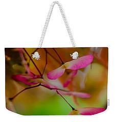 Japanese Maple Seedling Weekender Tote Bag