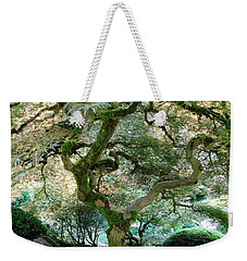 Weekender Tote Bag featuring the photograph Japanese Maple Tree II by Athena Mckinzie
