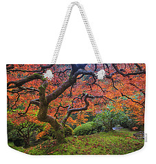 Japanese Maple Tree Weekender Tote Bag