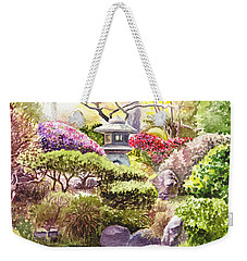 San Francisco Golden Gate Park Japanese Tea Garden  Weekender Tote Bag