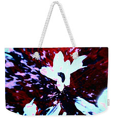 Weekender Tote Bag featuring the painting Jasmine In My Mind  by Jacqueline McReynolds