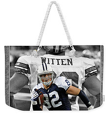 Jason Witten Cowboys Weekender Tote Bag