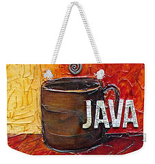 Java Weekender Tote Bag by Phyllis Howard