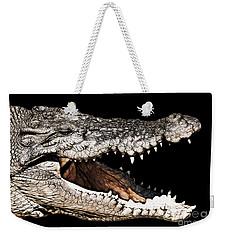 Jaws Weekender Tote Bag by Douglas Barnard