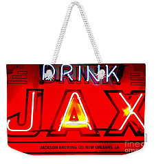 Jax Beer Of New Orleans Weekender Tote Bag