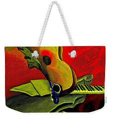 Jazz Infusion Weekender Tote Bag