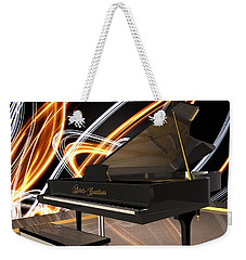 Jazz Piano Bar Weekender Tote Bag