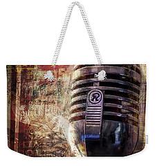 Jazz Weekender Tote Bag by Scott Norris