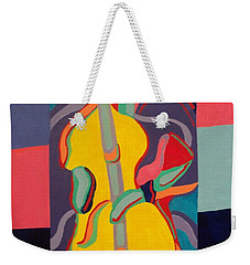 Jazzamatazz Cello Weekender Tote Bag