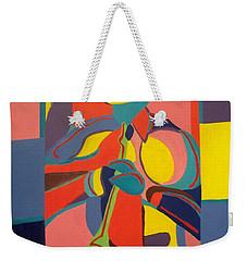 Jazzamatazz Horn Weekender Tote Bag by Angelo Thomas