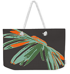Weekender Tote Bag featuring the digital art Jealous Daisy by Dragica  Micki Fortuna