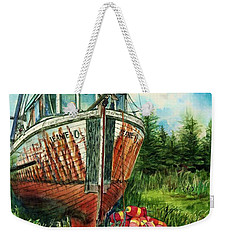 Jeanie O And The Crow Weekender Tote Bag