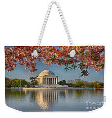 Jefferson Memorial In Spring Weekender Tote Bag