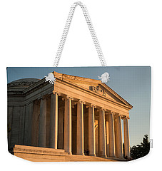 Jefferson Memorial Sunset Weekender Tote Bag