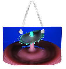 Weekender Tote Bag featuring the photograph Jelly Bean by Kevin Desrosiers