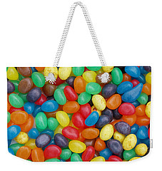 Jelly Beans Weekender Tote Bag by Ron Harpham