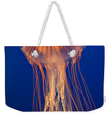 Weekender Tote Bag featuring the photograph Jelly Fish by Eti Reid