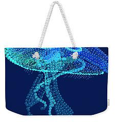 Jellyfish Bedazzled Weekender Tote Bag