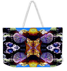 Jellyfish Reflections Weekender Tote Bag