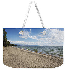 Weekender Tote Bag featuring the photograph Yellowstone Lake by Belinda Greb