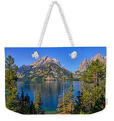 Jenny Lake Overlook Weekender Tote Bag