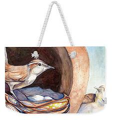 Jenny Wrens Weekender Tote Bag