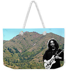 Jerry Garcia And Mount Tamalpais Weekender Tote Bag