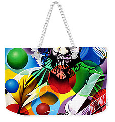 Jerry Garcia In Bubbles Weekender Tote Bag