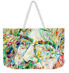 Jerry Garcia Watercolor Portrait.1 Weekender Tote Bag