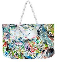 Jerry Garcia Watercolor Portrait.2 Weekender Tote Bag